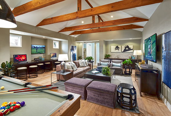 Park sierra at iron horse trail apartments dublin amenity resident lounge