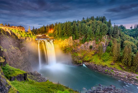 Seattle apartments attractions snoqualmie falls