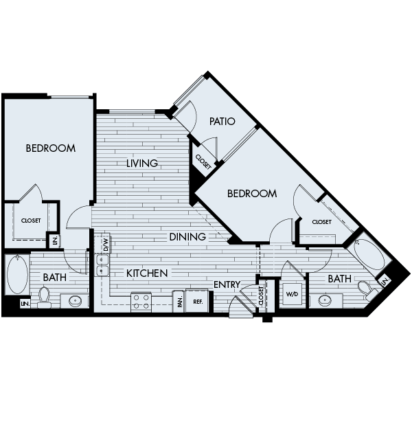 Ascent Affordable Floor Plan 2A