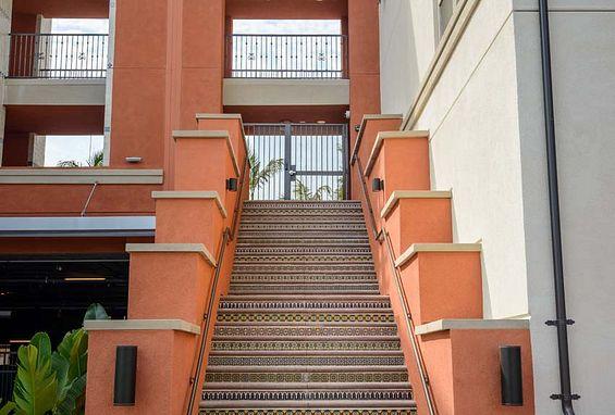 Reata oakbrook village apartments laguna hills building exterior staircase