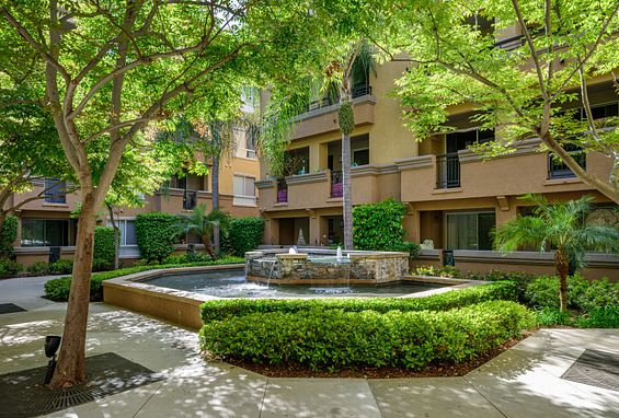 city lights apartments in aliso viejo courtyards