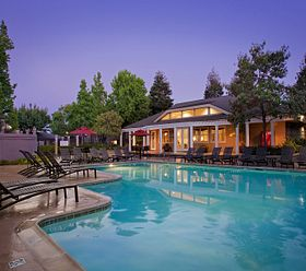 Creekside Village Apartments fremont amenity Pool