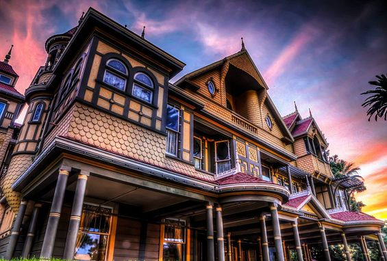 Northern California silicon valley apartments attractions winchester mystery house