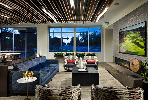 Tangent Apartments Denver Tech Center Resident Lounge Amenity
