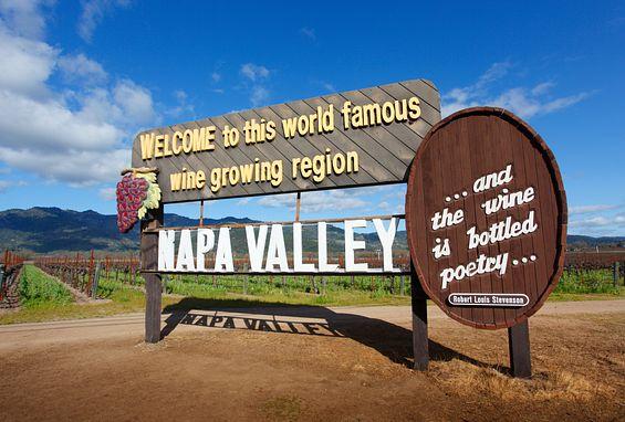 Northern California apartments location napa valley