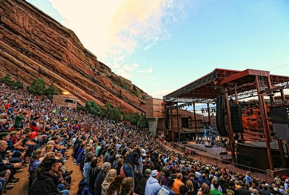 Denver Colorado Red Rocks Amphitheater