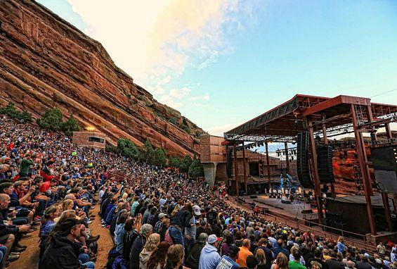 Denver Colorado Red Rocks Amphitheater