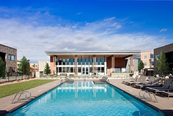 Vela Meridian Apartments Pool Amenity