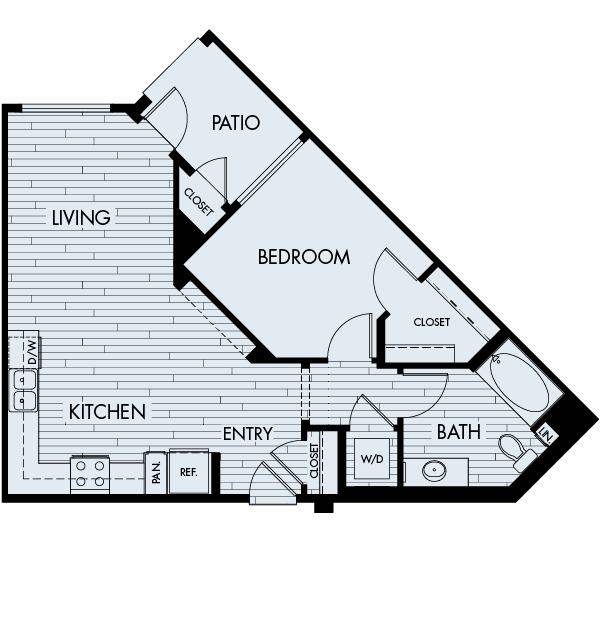 Ascent Affordable Floor Plan 1A