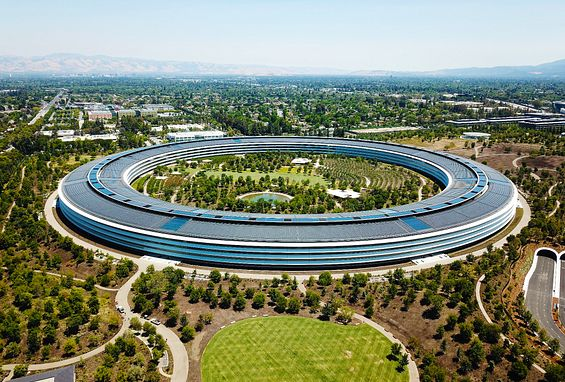 Northern California silicon valley apartments attractions apple park