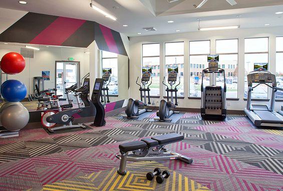 Vela Meridian Apartments fitness center amenity