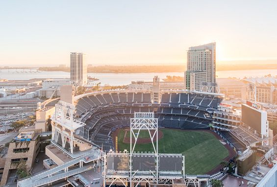 San diego apartments attractions petco park