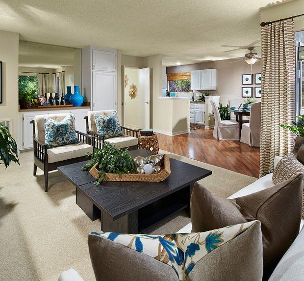 Woodbridge Apartments Irvine California 2 bedroom 2 bath plan 2B