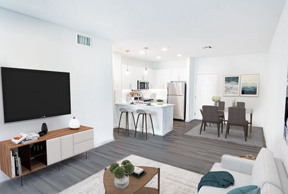 city lights aliso viejo apartments remodeled living area