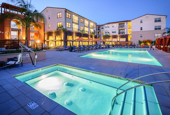 Reata oakbrook village apartments laguna hills amenity spa outdoor deck