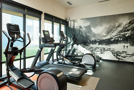 Apex Meridian East Affordable Apartments in Meridian, Denver Fitness Center