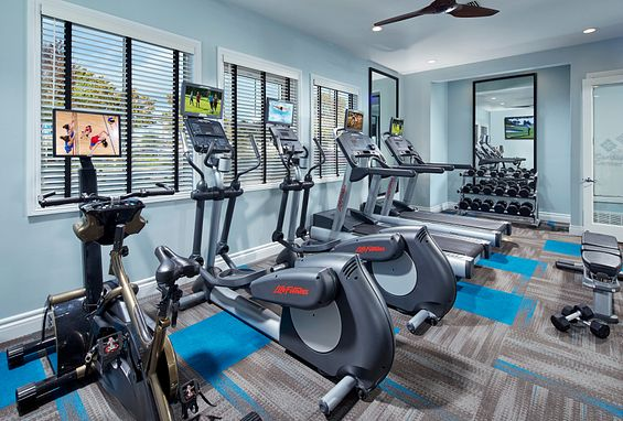 Park sierra at iron horse trail apartments dublin amenity fitness center