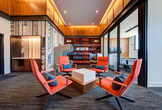 Symmetry apartments northridge amenity colab work space