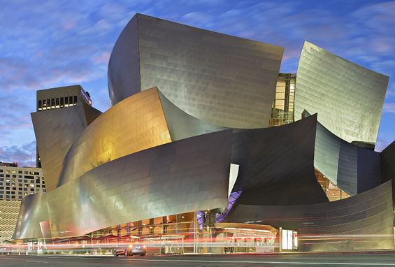 Southern california los angeles apartments attractions walt disney concert hall