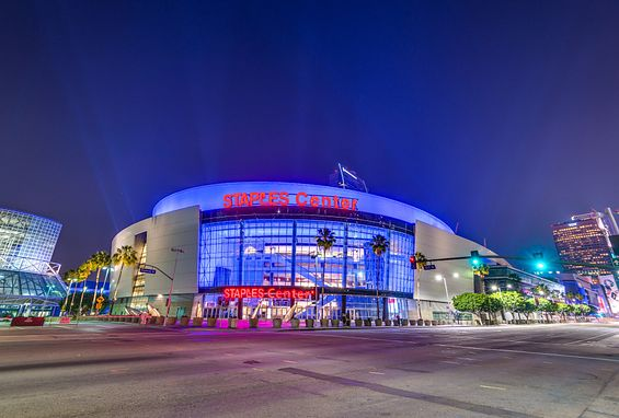 Southern california los angeles apartments attractions staples center