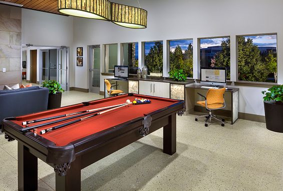 Lucent Blvd Apartments Highlands Ranch clubhouse Amenity