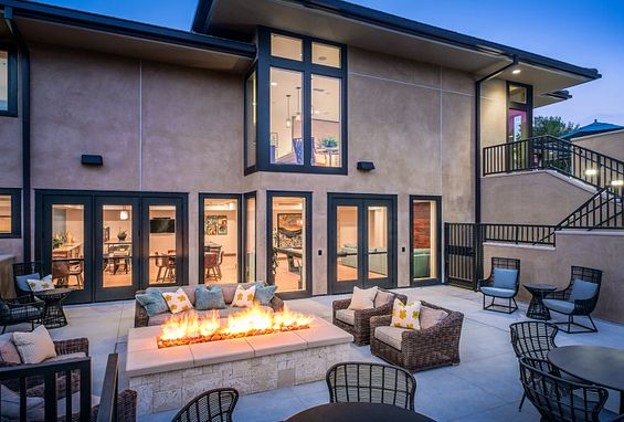 seabrook at bear brand apartments dana point amenity fire pit outdoor lounge