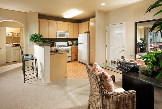 city lights aliso viejo apartments model 1c kitchen
