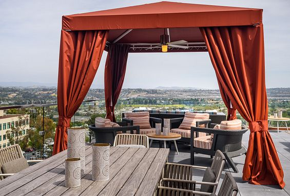 Sky Lounge at Vantis Apartments in Aliso Viejo, CA