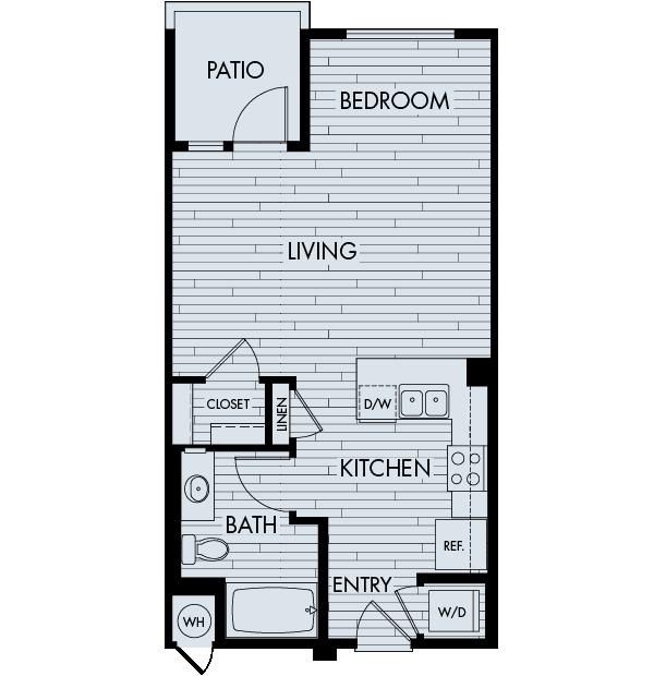 Vantis Affordable Apartments in Aliso Viejo Plan SA
