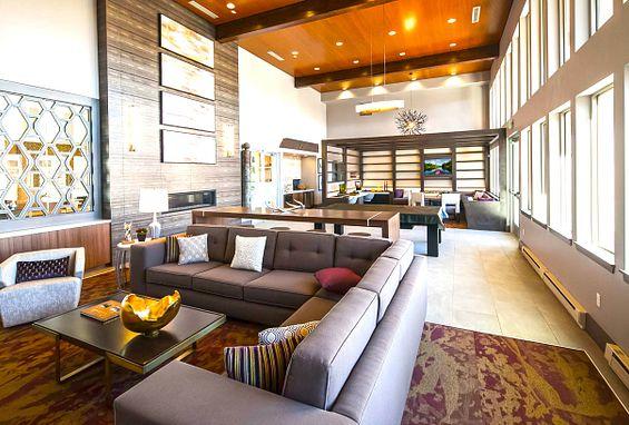Vela Meridian Apartments Resident Lounge Amenity