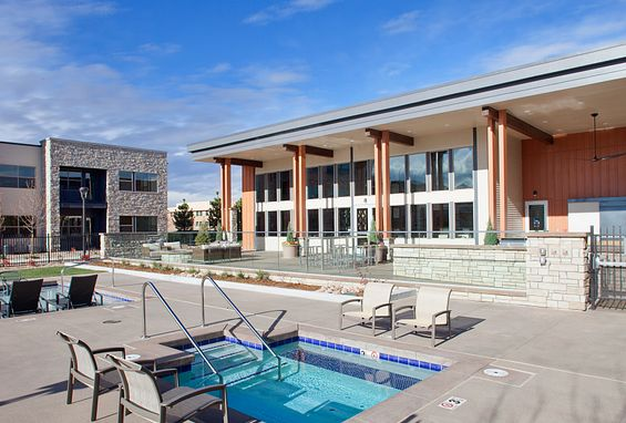 Vela Meridian Apartments resort-style spa