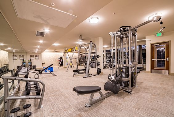 The york on city park apartments denver city park west amenity fitness center