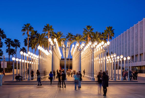 Southern california los angeles apartments lacma lamps
