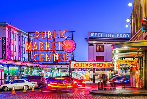Seattle apartments attractions pike place market