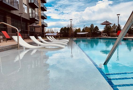 Tangent Apartments Denver Tech Center Pool Amenity