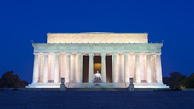 Lincoln Memorial at night, Washington D.C.