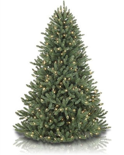 Artificial Christmas Trees Unlit