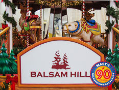 "Macy's Thanksgiving Parade — Balsam Hill has partnered with Macy's to create ""Deck The                         Halls"", a wondrous float that has brought the magic of Christmas to life in the Macy's                         Thanksgiving Day Parade."