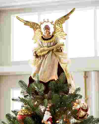 Noel Angel Tree Topper Main