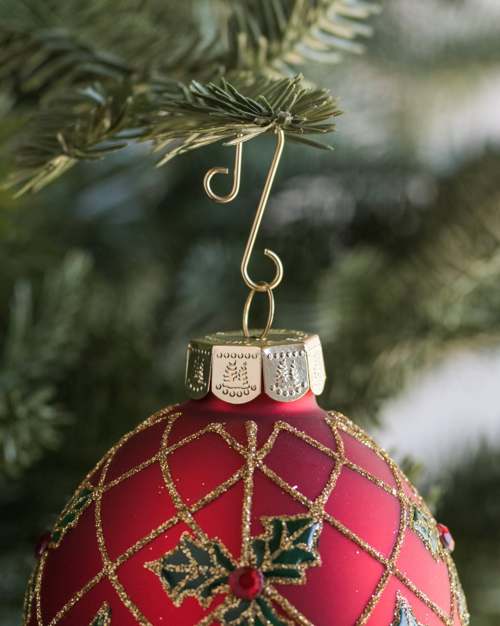 Heavy duty ornament hooks -  Gold Ornament Hooks Set Of 100 Alt