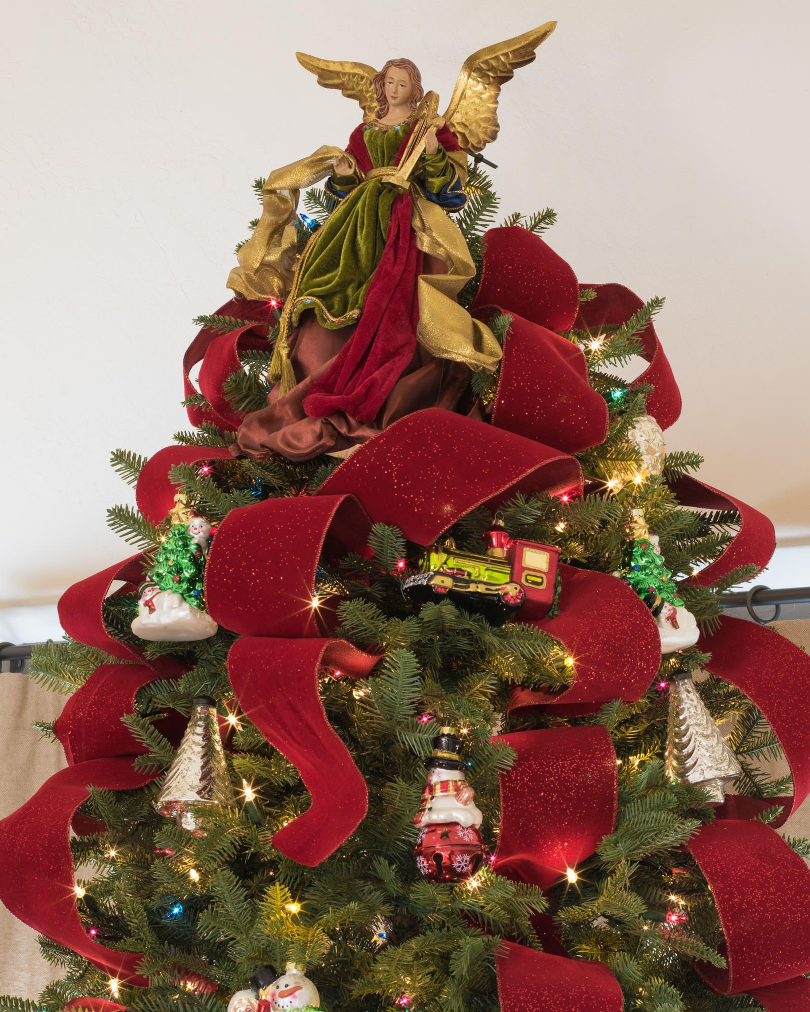 Christmas Angel Tree Topper Balsam Hill