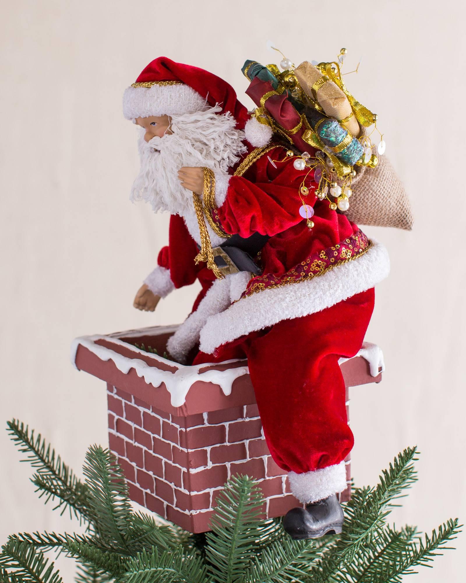 Christmas Tree Toppers Santa: Jolly Saint Nick Tree Topper