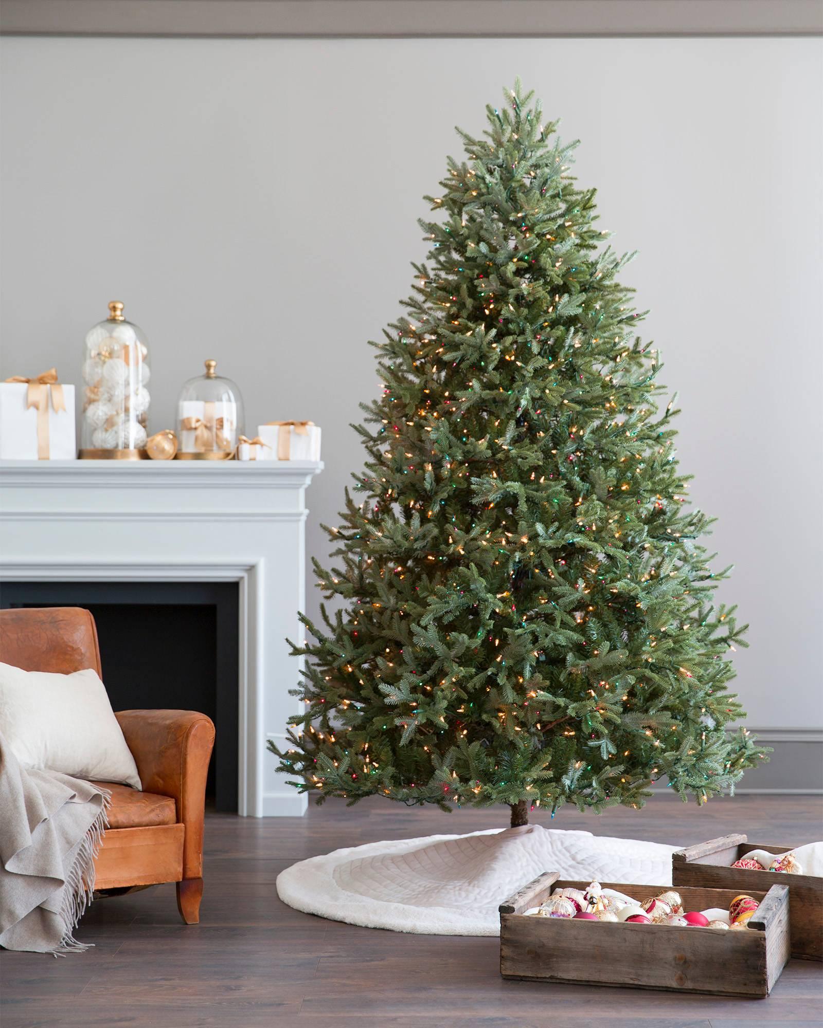 berkshire quilted tree skirt balsam hill. Black Bedroom Furniture Sets. Home Design Ideas