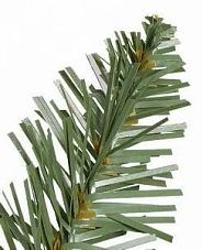 Close-up shot of a Balsam Hill Artificial Christmas Tree classic needle made from flat PVC strips
