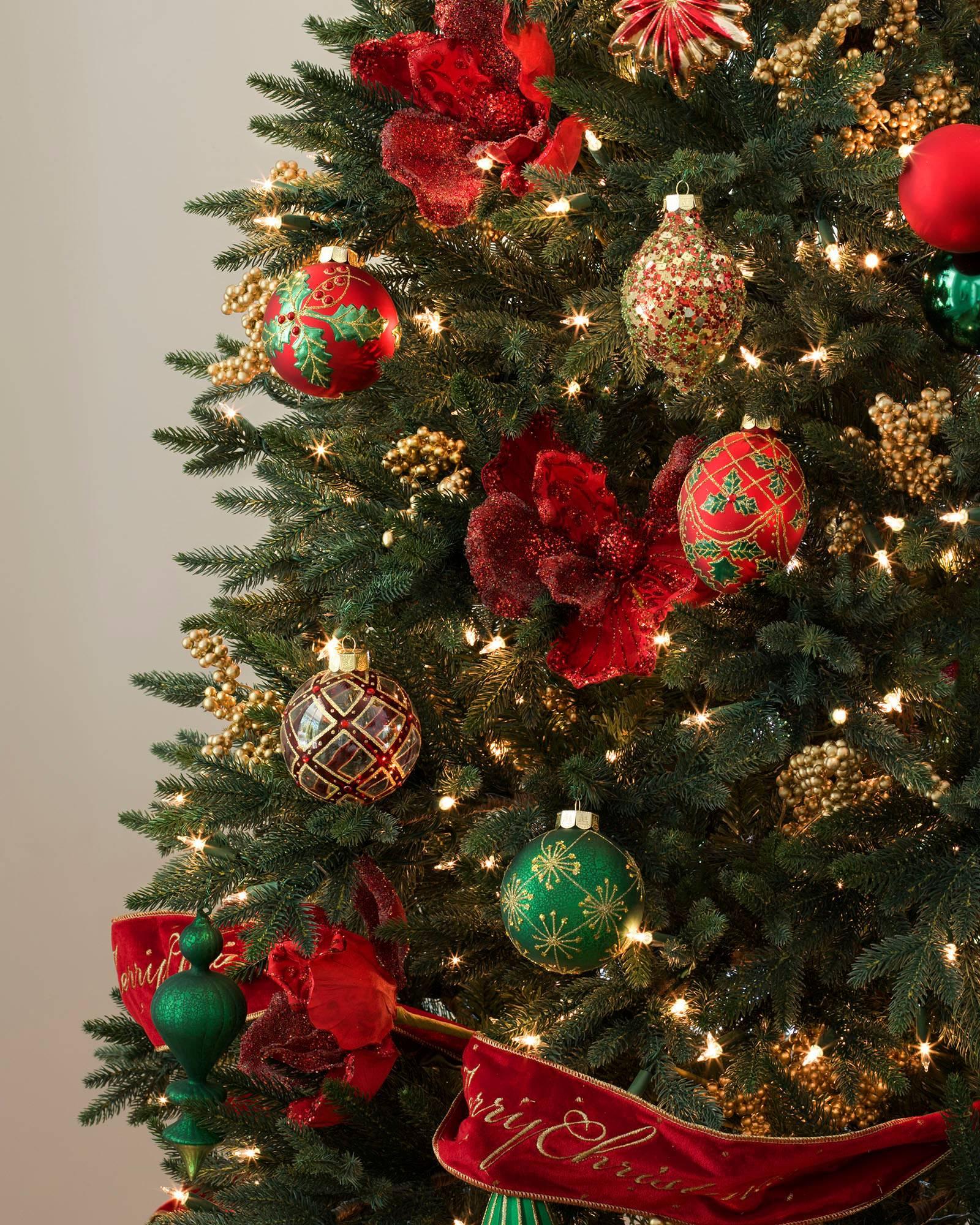 Christmas ornament sets for tree -  Christmas Cheer Ornament Set Alt