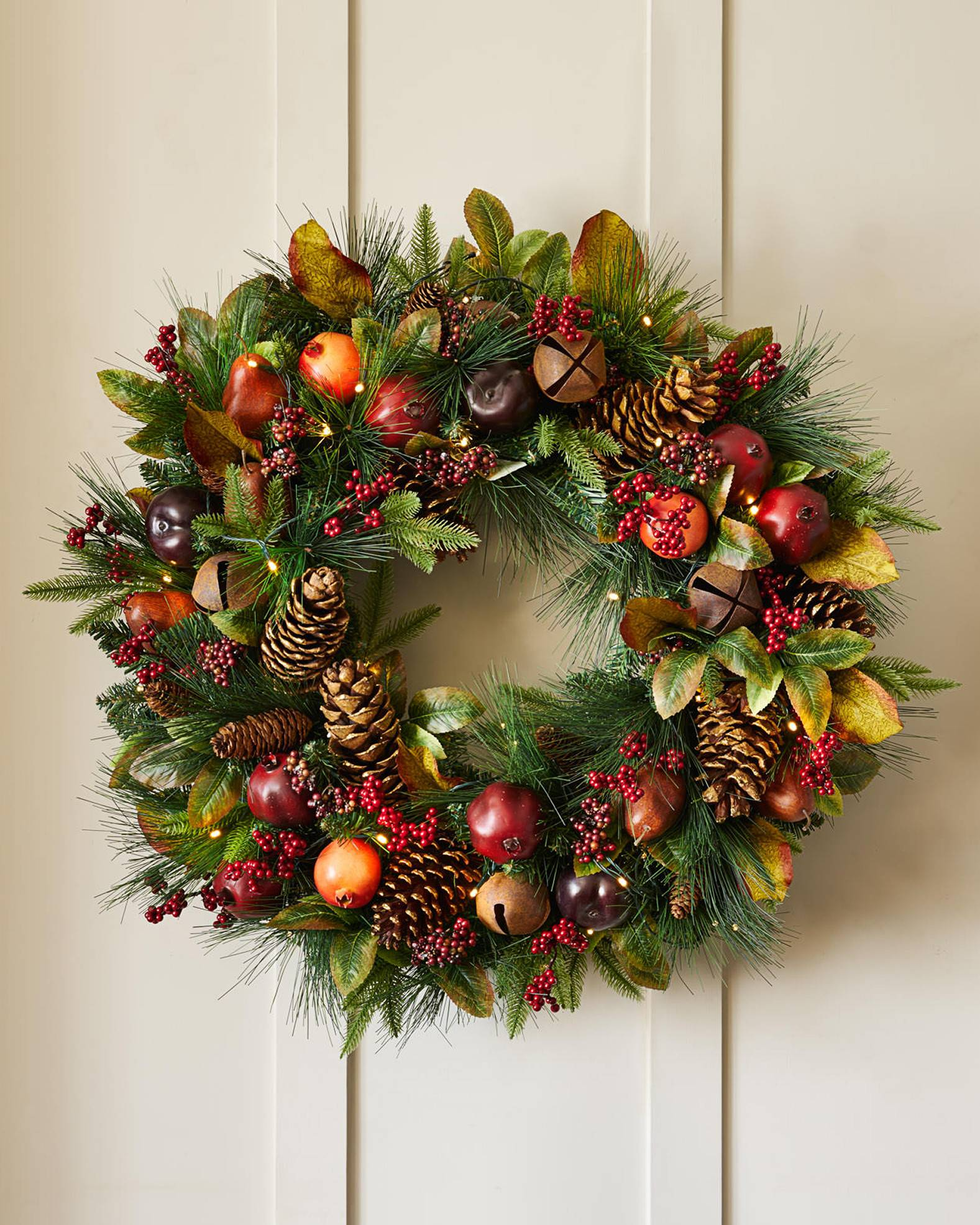 Charlestown Decorated Wreath And Garland Balsam Hill