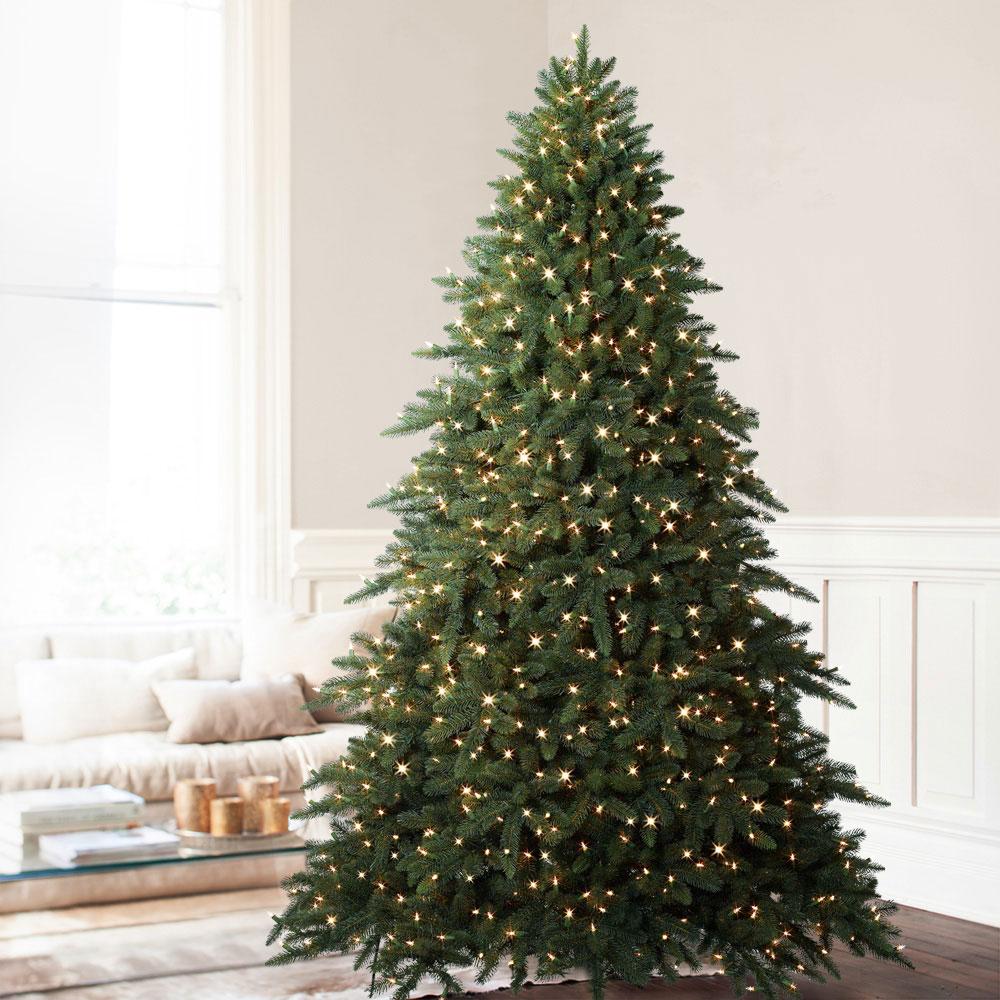 Aspen 75 Green Fir Artificial Christmas Tree With 700 Warm