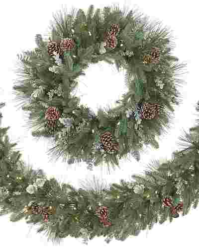 Wintry Woodlands Wreath and Garland