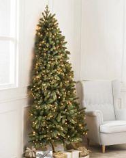 space-saving flatback Christmas tree
