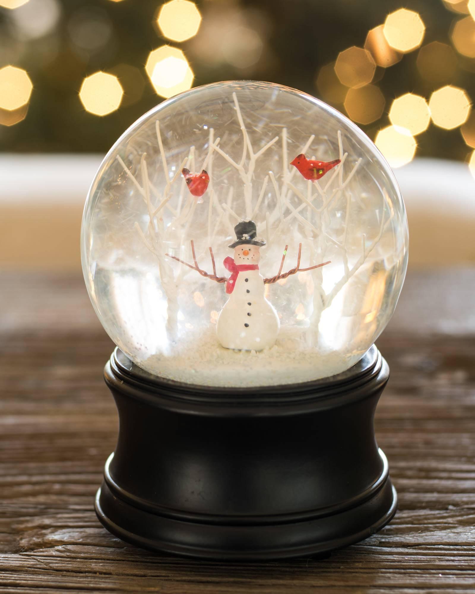 Snowman Musical Snow Globe